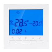 Programmierbarer Thermostat mit Wifi-Funktion Elektrischer Heizungs-Thermostat Smart WIFI Temperaturregler 16A 200 ~ 240V Energiesparen mit LCD-Display