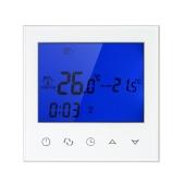 Wifi Programmable Thermostat Wifi Eau Chauffage Smart WIFI Contrôleur de Température 3A 200 ~ 230 V avec Écran Tactile LCD Rétro-Éclairage