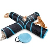 Cat Tunnel 4 Way Pet Play Tunnel