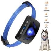 犬の反吠え声のつば6つ1つの調節可能なつばのビープ振動の衝撃の訓練つばの小さい中型の大きい犬のためのスクリーン・ディスプレイ