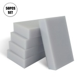 50Pcs/Set Cleaning Sponges Extra Large Eraser Sponge Home Cleaning Kitchen Dish Cleaning Sponges Water Absorbent Dry Quickly Sponges for Bathroom Bathtub Floor Baseboard Wall Cleaner