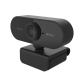 Full HD 1080P Webcam USB Mini Computer Camera Built-in Microphone Flexible Rotatable for Laptops Desktop and Gaming