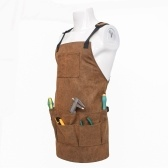 Multiple Pockets Hardware Kit Tool Multi-functional Garden Work Apron
