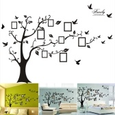 3D PVC Stickers Muraux Cadres Photo Arbre Familial Sticker Facile à Installer Appliquer DIY Photo Galerie Cadre Décor Autocollant Home Art Décor