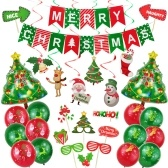 Christmas Balloon Decorations Set