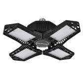 LED Garage Lights 20000LM Ultra Bright 200W Deformable Garage Ceiling Light