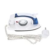 Handheld plegable de vapor seco vapor de vapor de temperatura ajustable máquina de planchado portátil para uso doméstico de viaje AC220V-240V UE enchufe