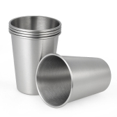 5pcs/set Good Quality 304 Stainless Steel Beer Cup Wine Cup Unbreakable Kid