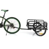 IKayaa Bicicletta pieghevole per rimorchio da carico