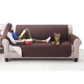 Защитный чехол для детей для собак / кошек Домашние животные Реверсивная мебель Loveseat Водонепроницаемые чехлы для сидения для сиденья (53 * 180 см)