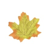 50Pcs Simulation Plant Photo Shoot Props Fake Silk Autumn Maple Leaves Artificial Fall Leaf