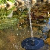 Kit de panel de fuente de agua flotante al aire libre para la fuente de agua para pájaros 2.4W