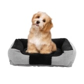 Warming Durable Pet Dog Bed Washable Comfortable Puppy Dog Bed with Soft Breathable PP Cotton