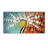 Conjunto de pintura al óleo pintado a mano enmarcado de 60 * 120 cm