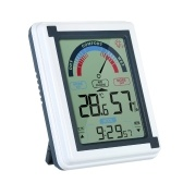 Digital Indoor Thermometer with Alarm Clock Function
