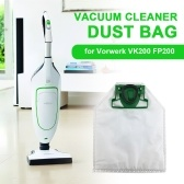 Dust Bag Vacuum Cleaner Replacement Bag Compatible with Vorwerk VK200 FP200 Vacuum Cleaner