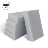 100Pcs/Set Cleaning Sponges Extra Large Eraser Sponge Home Cleaning Kitchen Dish Cleaning Sponges Water Absorbent Dry Quickly Sponges for Bathroom Bathtub Floor Baseboard Wall Cleaner