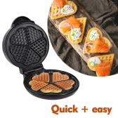 Mini Waffle Maker Waffle Machine per cialde individuali Paninis Hash browns