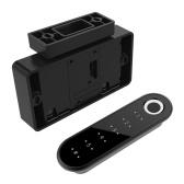 Niveau de sécurité Mot de passe Empreinte digitale Serrure de tiroir Semi-conducteur Technologie de détection d'empreintes digitales Serrure de mot de passe rechargeable USB