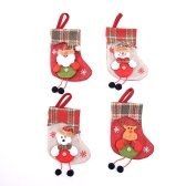 Christmas Stocking 4 Pack Classic Christmas Stocking