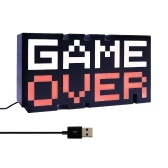 USB Game Over Colorful Lighting