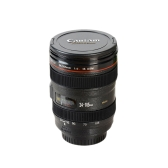 Camera Lens Plastic Travel Coffee Tea Mug Cups