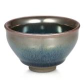 Styl Vintage Glaze Teaware Jianzhan Herbata Cup Mini Herbata Miska Hare's Fur Temmoku Tea Cup Chiński Kungfu Tea Cup Chiński Narodowy Arts and Crafts Chawan from Chinese