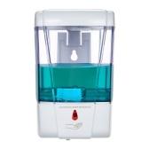 Distributeur automatique de savon de 700ml distributeur mural de savon de lotion de distributeur de savon liquide de main de récipient d'IR pour la cuisine
