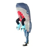 Adults Man-eating Shark Inflatable Costume Props