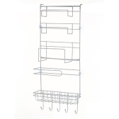 S-8008 Refrigerator Rack Fridge Side Shelf Multi-Layer Sidewall Holder