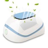 Ozon S-Terilizer Haushaltsluftreiniger USB Wiederaufladbarer Kühlschrank S-Terilizer Eliminator Desodorierung S-Terilizer für Auto Büro Kleiderschrank Schuhschrank S-Terilizer Schrank Ozonmaschine