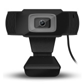 Full HD 1080P Webcam USB Mini Computer Camera Built-in Microphone Flexible Rotatable for Desktop