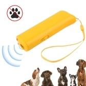 Entrenador repelente para perros de mano Linterna Disuasor ultrasónico para perros Alcance de 16.4 pies Bark Stopper Adiestramiento de perros