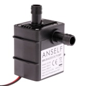 Anself ultra-leise Mini DC12V 4.2W Micro Brushless Wasser Öl Pumpe Wasserdicht Tauchpumpe Brunnen Aquarium 240L/H Lift 300cm Umlauf