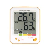 LCD Digital Thermo-hygrometer Thermometer Hygrometer Temperature Humidity Measurement Meter with Heatstroke Alarm Function