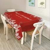 80 * 60 '' Prostokąt Boże Narodzenie Obiad Tablecloth Poliester Nadrukowana Stolik Tabela Ozdobna Christmas Decoartions