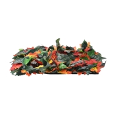 Dog Snuffle Mat Pet Training Feeding Toy Encourage Foraging Skills Imitation Maple Leaves Design Nose Work for Stress Release Outdoor Activity