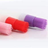 Silicone Oil Bottle with Brush Heat Resisting Oil Brushes