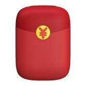 Enveloppe rouge alimente le chargement de réchauffeur de main de banque sans recharge USB