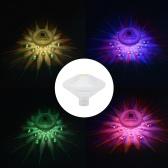 Piscina de aguas termales subacuas Lámpara de diodo emisor de luz flotante de ahorro de energía impermeable multicolor