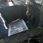 Alfombrilla protectora para asiento de coche para perros