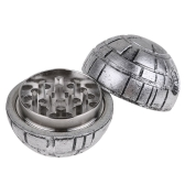 3 Layers Round Smoke Cigarettes Grinder Zinc Alloy Sphere Star Weed Herb Tobacco Crusher