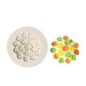 1 Unidades Forma de Flor de Silicona Fondant Moldes Moldes de Chocolate para Decoración de Pasteles Sugarcraft Resina Arcilla Polimérica