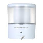 Distributeur automatique de savon de 600ml Distributeur mural de savon Capteur infrarouge sans contact Distributeur de savon liquide pour distributeur de savon