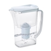 Wasserkrug Transparent Wasserfilter Krug Wasserflasche mit Kohlefilter Einfache Wasserfilter Luftreiniger Wasserfilter mit Filterelement