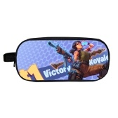 Fortnite Night Animation Children Pencil Bag Pen Bags