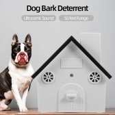 Pet Dog Safe Outdoor Bark Control Ultrasonic Sound Anti Barking Device Waterproof 4 Levels Sonic Bark Deterrents Dogs Training Control Tool