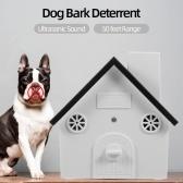 ペット犬安全屋外樹皮制御超音波防音吠え声装置防水4レベルソニック樹皮抑止力犬トレーニング制御ツール