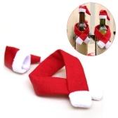 新しいクリスマスワインボトルカバークリスマスワインボトルデコレーション