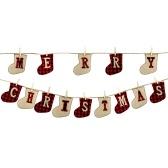 Banner Feliz Natal em Forma de Meia